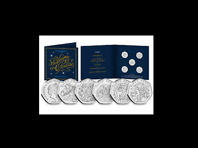 The Christmas Pantomime 50p Coin Set BRAND NEW RELEASE 2019