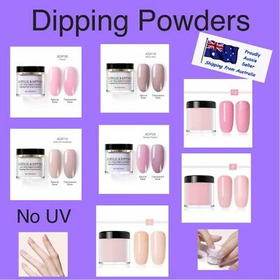 Dipping Powder NO UV needed Beige Nude Light Pink French Nail 10ml Nail Art Dip