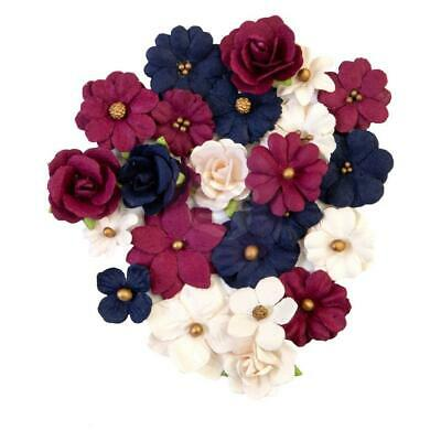 NEW Prima Marketing - Mulberry Paper Flowers - Gilded Beauties/Darcelle