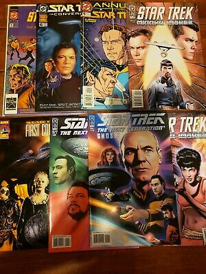 Star Trek TOS TNG DS9 VOY Comic Lot