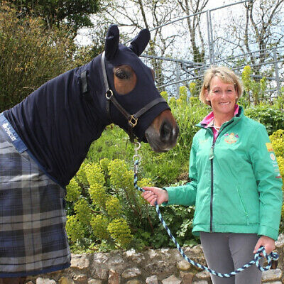 Snuggy Hoods Weatherproof Turn Out Horse Hood - 8 Sizes - 3 Colours Optional Zip