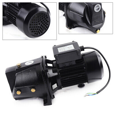1 HP Shallow Well Jet Pump Cast Iron Self Priming Water Heavy-duty 110V Motor