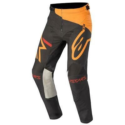 Alpinestars Cross Hose Racer Tech Compass - Schwarz/Orange