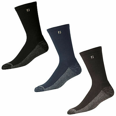 FootJoy Mens ProDry Crew Socks - Golf /Sports socks  Pair Pack advanced  comfort