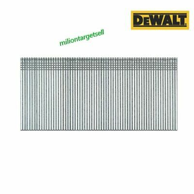 100 1000 5000 DEWALT GALVANISED BRAD NAILS 18G x 15 20 25 30 35 38 45 50 mm