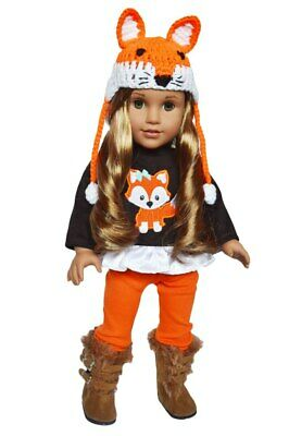 Autumn Woodland Fox Outfit for American Girl Dolls 18 Inch Doll Clothes