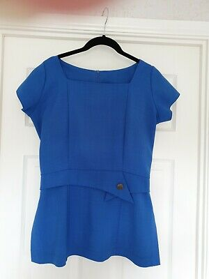 Florence Roby  blue tunic size 10