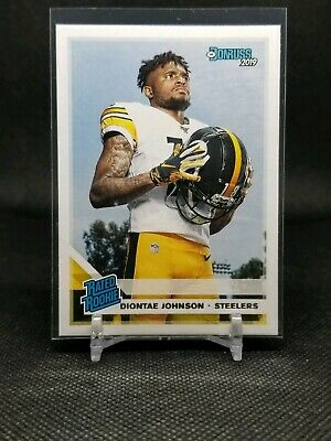 2019 Panini Donruss NFL Rated Rookie Diontae Johnson RC - Pittsburgh Steelers