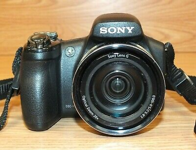 "Genuine Sony CyberShot (DSC-HX1) Exmor Digital Camera With 3"" Display Screen"