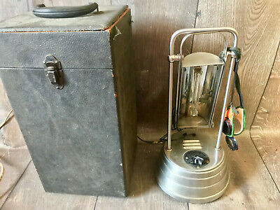Vintage 1940s Sun Kraft Ultraviolet Ray Therapy Lamp Tanning Medical Cure All