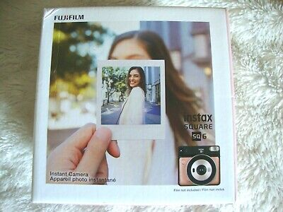 BRAND NEW Fujifilm instax SQUARE SQ6 Instant Camera (Blush Gold)