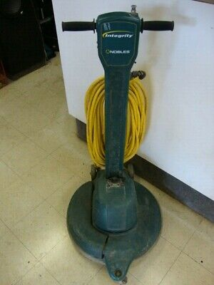 "NOBLES 608346 High Speed Corded 20"" Electric Buffer / Burnisher w/ Dust Control"