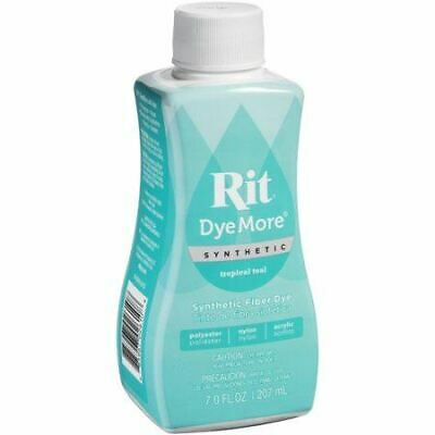Rit DyeMore Liquid Tropical Teal Synthetic Fiber Dye