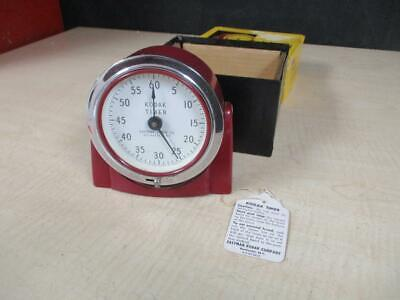 "Kodak ""8239 Darkroom Timer Mint Condition Vintage Piece With Box"