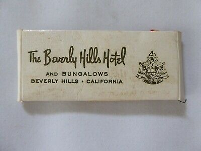 Vintage The Beverly Hills Hotel and Bungalows Sewing Kit