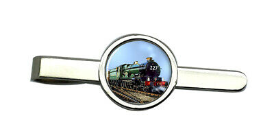 GWR Castle Class Steam Train Tie Clip