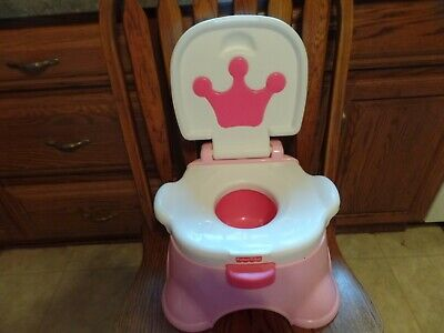 Fine New Fisher Price Princess Potty Chair Step Stool Sings Crown Pabps2019 Chair Design Images Pabps2019Com