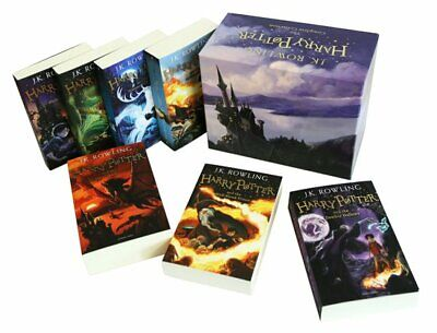 J.K. Rowling Harry Potter Box Set - The Complete Collection