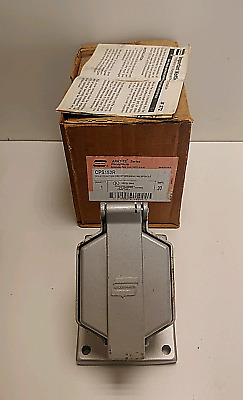 New In Box! Crouse-Hinds 20A Delayed Action Circuit Breaking Receptacle Cps152R