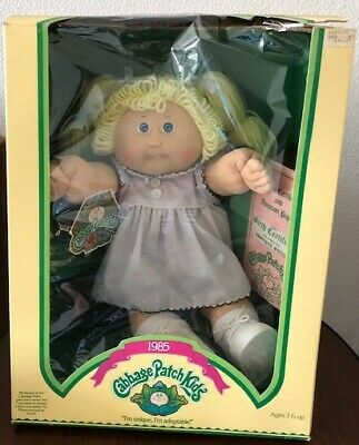 1985 COLECO Cabbage Patch Kids Doll - Geniveve Reggie - NEW In Box