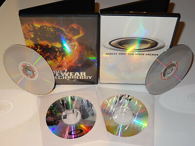 Oakley Merchandising/Red Code/Eyewear/Archive 4xDVD rare collector special