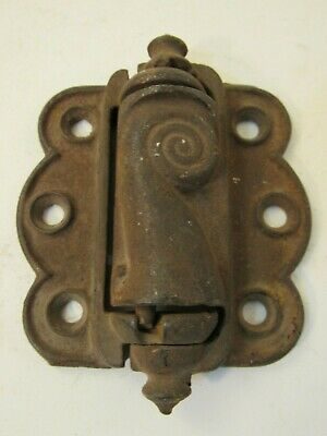 One Working Antique Eastlake Decorative Screen Door Spring Hinge