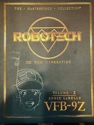 2 VFB-9Z ANNE LABELLE FIGURE ROBOTECH MACROSS TOYNAMI MASTERPIECE VOL