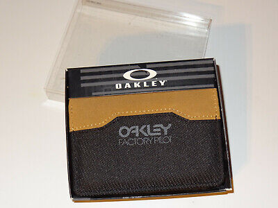 Oakley Factory Pilot Leather Wallet 95142-01K, new rare collector