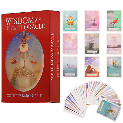 45Pcs Magic Archangel Oracle Card Earth Magic Fate Tarot Deck Card Gift 75x103mm