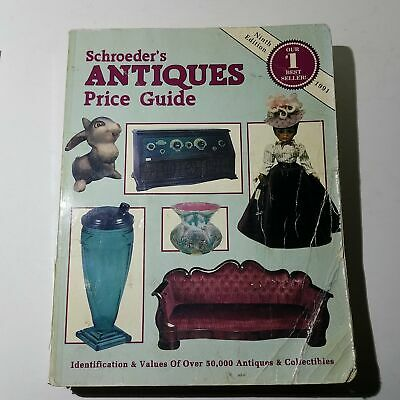 Schroeders Antiques Price Guide Ninth Edition 1991 - Collector Books