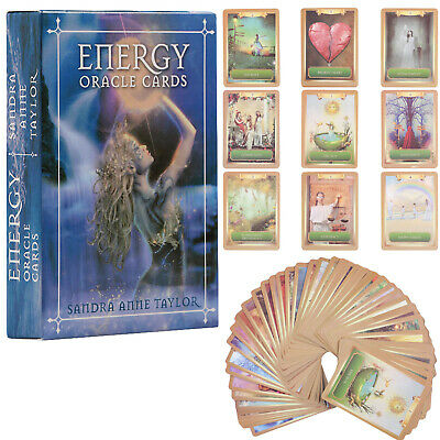 45Pcs Magic Archangel Oracle Card Earth Magic Fate Tarot Deck Card 75*103mm Gift