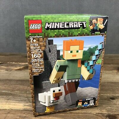 LEGO Minecraft Minecraft Alex BigFig with Chicken 21149 NEW NIB