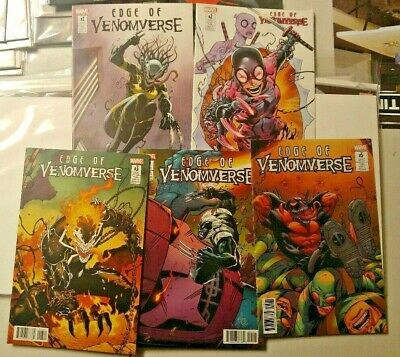 Edge of Venomverse Set (2017) Variant Editions