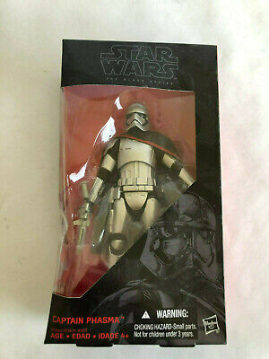 """Star Wars The Force Awakens Black Series 6"""" Captain Phasma New with Damaged Box"""