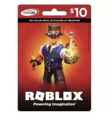 Roblox Gift Card Physical Online 10 Dollar Value for Robux Fast Delivery Email