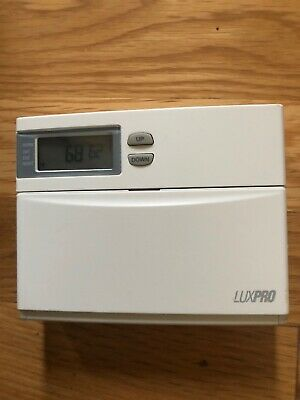 NIB LUXPRO PSD111 Digital Thermostat Horizontal/Vertcal ... on 2 stage heat pump thermostat wiring, nordyne thermostat wiring, aprilaire thermostat wiring, wax thermostatic element, dual thermostat wiring, payne thermostat wiring, cooling thermostat wiring, robertshaw thermostat wiring, lennox thermostat wiring, venstar thermostat wiring, basic thermostat wiring, home thermostat wiring, american standard thermostat wiring, temperature control, coleman thermostat wiring, digital thermostat wiring, ge thermostat wiring, ac thermostat wiring, taco thermostat wiring, thermostatic mixing valve, heating thermostat wiring, totaline thermostat wiring,