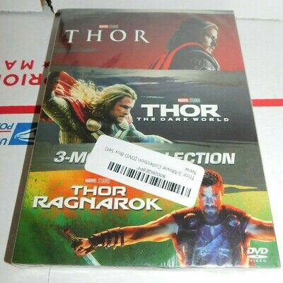 THOR 3-Movie Collection [DVD BoxSet ] Complete Trilogy Brand New - Free Shipping
