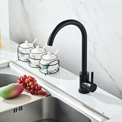 Swival Mixer Kitchen Tap Hot and Cold Water Mixed Vessel Faucets w/2x Hoses