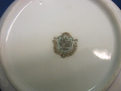 Antique. Vintage Dish with Lid Cover. Porcelain, Faience. Russia 19th century