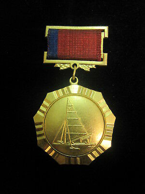 Pin Badge. Yacht. Sail. Sport. Champion of Russia.
