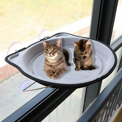 Cat Window Hammock Bed Seat Perch Pet Mounted Suction Cup Hanging Shelf Cushion