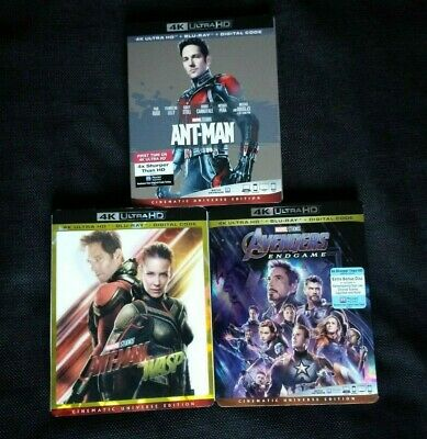 ANT-MAN + & THE WASP + #AVENGERS #ENDGAME 4K/Blu-ray!! #AntMan #Marvel #4K #MCU