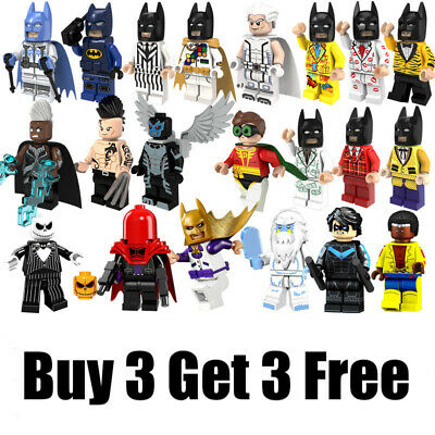 █ Buy 2 Get 1 Free █ Spider-Man Far from Home MOC Mini Figure Gift KT1027 202