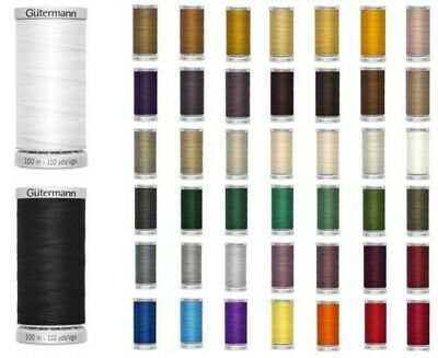 Gutermann Extra Strong Thread 100m Reel - Sewing & Upholstery - All 45 Colours