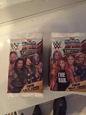 Topps - WWE Slam Attax Universe Trading Cards - 36 Packets (7 In Each Pack)
