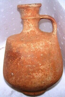 Iron  age ll  terra cotta Decanter  (Israelte,time of the kings).