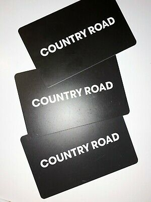 Country Road Gift Card 3x $50 = $150
