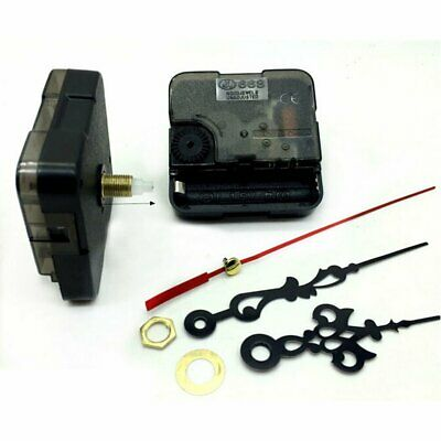 DIY Quartz Clock Movement Mechanism Hands Wall Repair Tool Kit Parts Silent Set