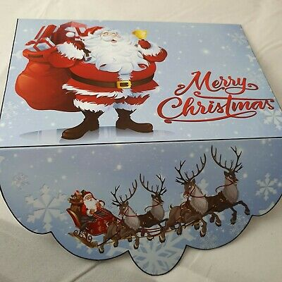 Merry Christmas Santa money wallet /Gift card holder Envelope voucher