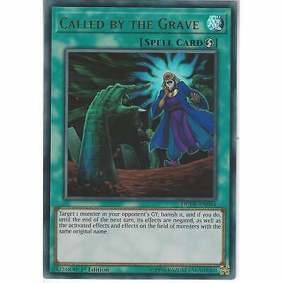 DUDE-EN044 Called by the Grave | 1st Edition | Ultra Rare Card | YuGiOh TCG